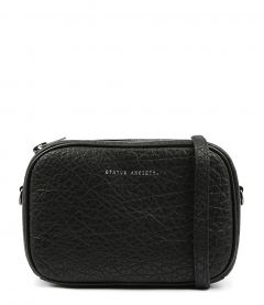 PLUNDER BAG BLACK LEATHER