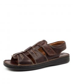 C MYTHOS BROWN TUMBLE LEATHER