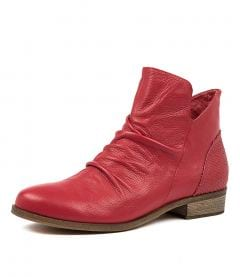 SPRAY RED LEATHER