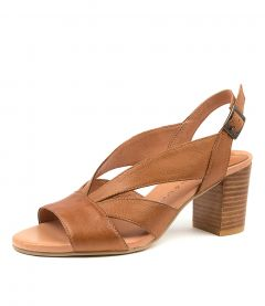 SIMMIE NEW TAN LEATHER