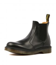 2976 CHELSEA WOMENS BLACK LEATHER