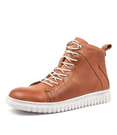 CLARRIE  BRANDY LEATHER