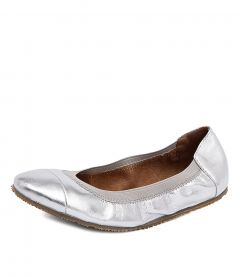 AVA BALLET SILVER LEATHER